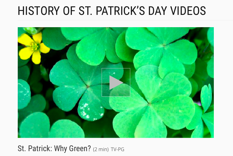 St. Patrick: Why Green?St. Patrick: Why Green?