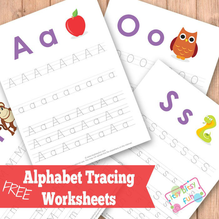 alphabet free printable