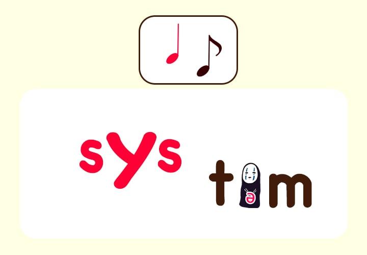systemの発音 あいまい母音