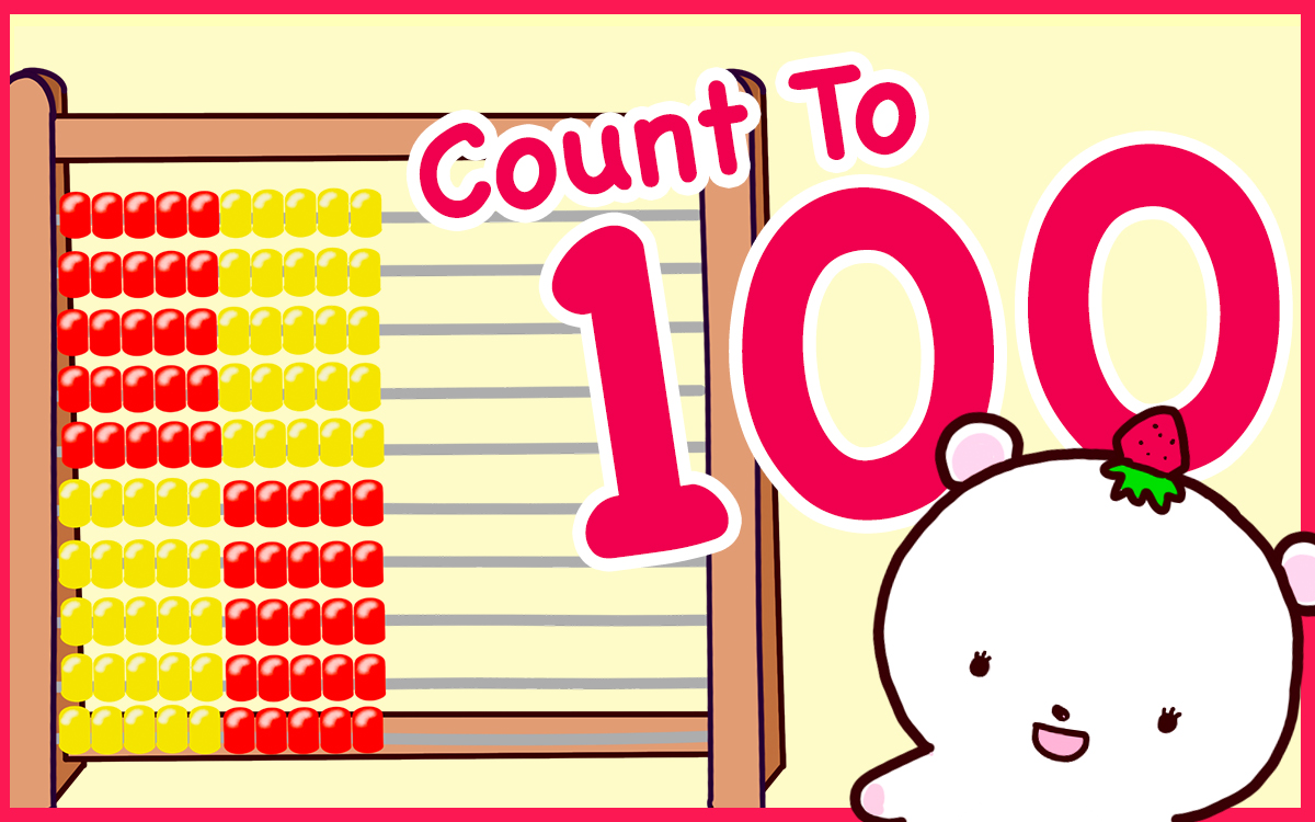 Let's Count To 100 Using Abacus
