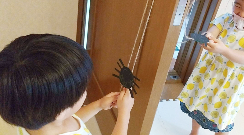 climbing itsy bitsy spider craft