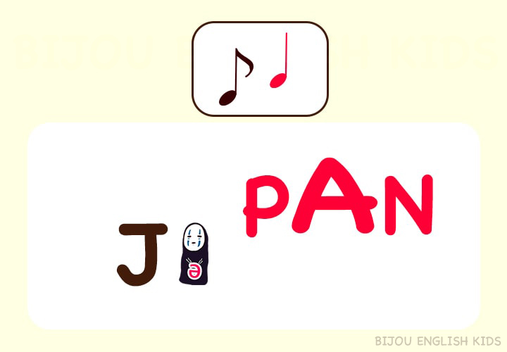 JAPANの発音 あいまい母音
